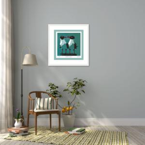 Social Gulls - Framed
