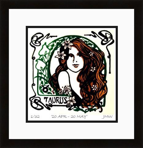 Taurus framed