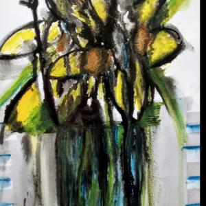Daffs In Vase