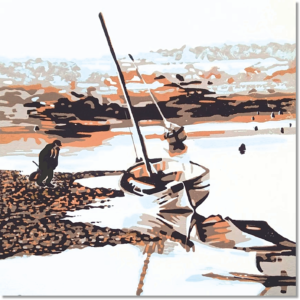 Low Tide - Print Only