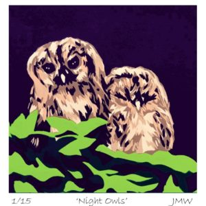 Night Owls - Print Only