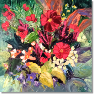 Potted Bouquet - Sold