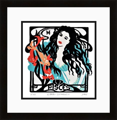 Pisces framed