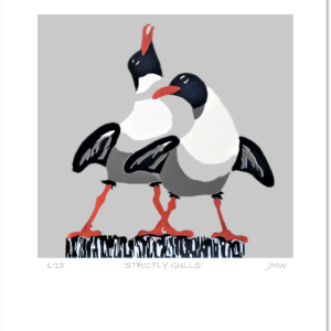'Strictly Gulls' - print only