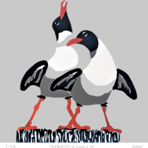'Strictly Gulls' - framed